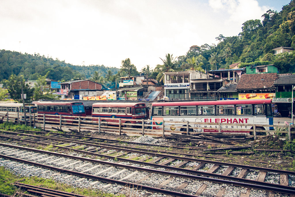 On the Railway to Kandy